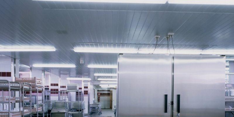 Lautex metallikatot hygieenisesti vaativiin kohteisiin