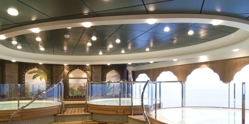 Lautex cassette ceilings in shipbuilding