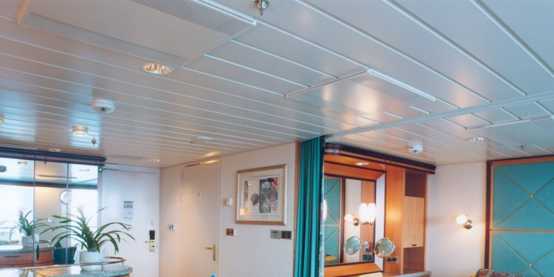 Panel ceilings